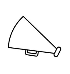 old bullhorn symbol vector image