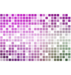 Purple green pink occasional opacity mosaic over vector