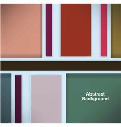 Retro background with colored squares and stripes vector
