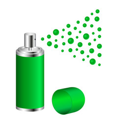 Spray in green design vector