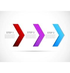 Step design vector image