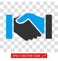 Acquisition Handshake Eps Icon vector image vector image