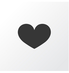 heart icon symbol premium quality isolated soul vector image