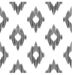 Ikat seamless pattern fashion wallpaper vector