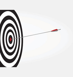 Arrow on target vector