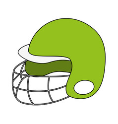 Baseball related icon image vector
