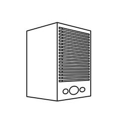 Data center server technology system vector