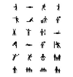 Human Icons 4 vector