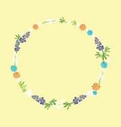 July Wreath vector