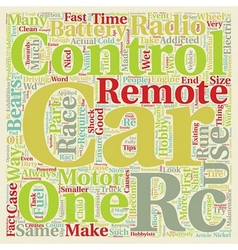 Remote Control Car Maintenance Tips text vector