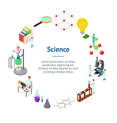 science chemical pharmaceutical concept banner vector image