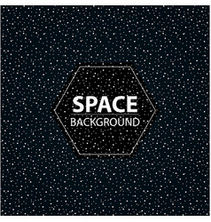 Stylized space banner vector