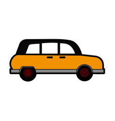 Taxi car icon image vector