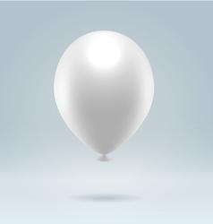 White balloon vector image vector image