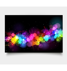Art background vector image