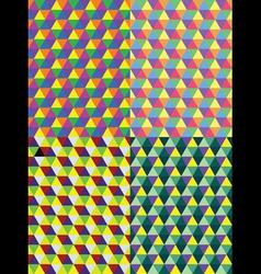 geometric polygon vector image