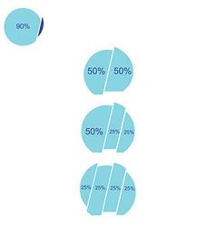 chart vector image