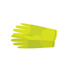 Clean latex gloves isolated vector
