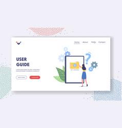 Customer support center client online help vector