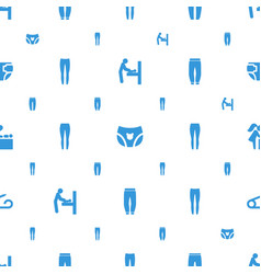 diaper icons pattern seamless white background vector image