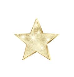 golden star scatter glitters shiny christmas vector image