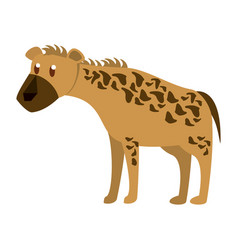 hyena wild animal vector image