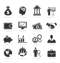 Icon business9 vector image