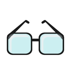 Isolated glasses accessory design vector