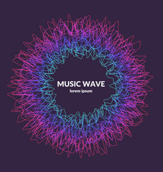 Music poster abstract background with a vector