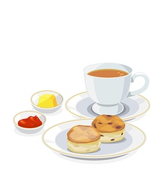 Tea break vector