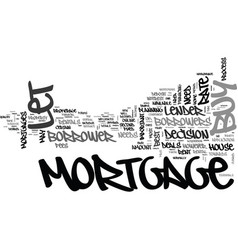 what one needs to plan on buy to let mortgage vector image