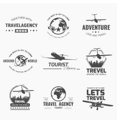 Trevel logo vector image vector image