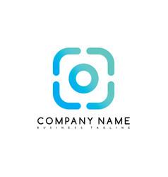 Camera photography brand company template logo vector