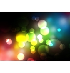 Abstract blurred background Colorful vector