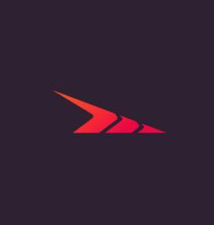Abstract symbol speed logo concept design vector