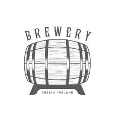 brewery logotype vector image