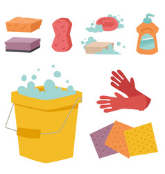 Cleanser bottle chemical housework product care vector