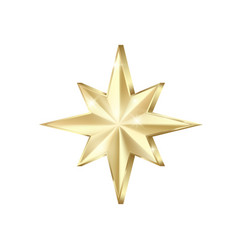 golden star scatter glitters shiny gold star vector image