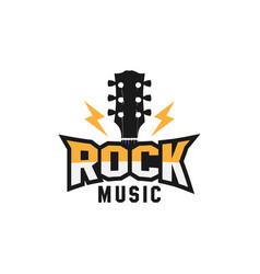 logo music festival vector image