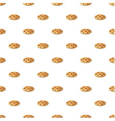 Pie or pizza pattern vector