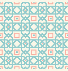 retro abstract geometric pattern vector image