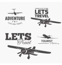 Trevel logo vector image