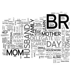 What only one day a year for mom text word cloud vector