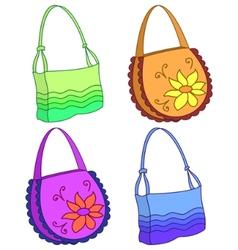 female handbags vector image
