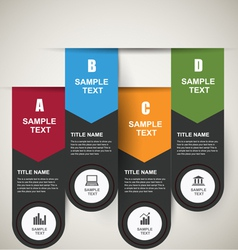 Infographics Banners vector image