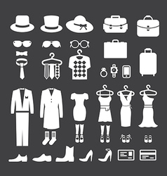 Clothing Store shopping Icon vector image vector image