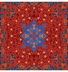 floral arabesque ornament vector image