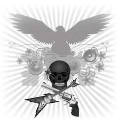 Rock n roll vector image vector image