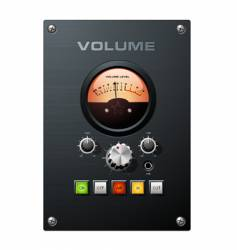 volume meter vector image vector image