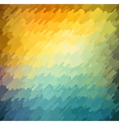 Abstract geometric background with orange blue vector image vector image